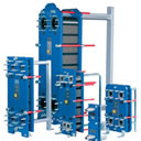 Bonded plate heat exchanger