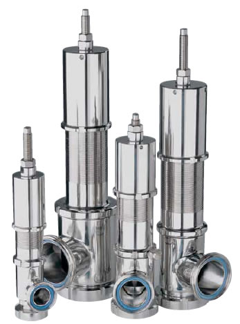 Kieselmann safety valves