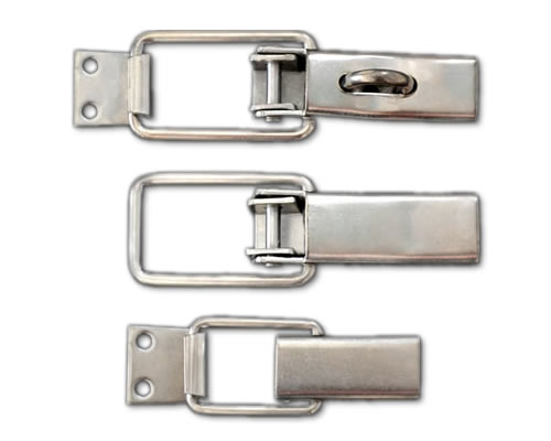 Stainless steel toggle clamps for food bev