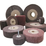 Welding polishing wheels